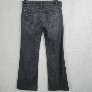 7FAM / 7 For all ManKind Dojo wide bottom jeans